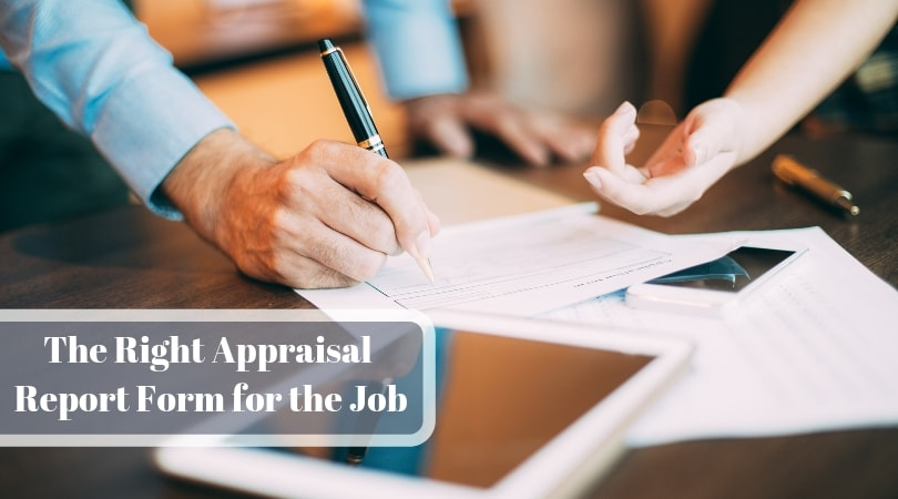Real Estate Appraisal Form 1004