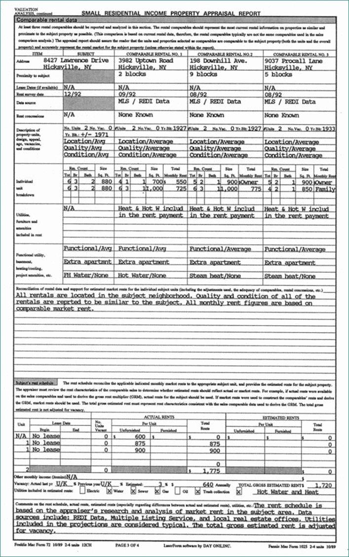 Real Estate Appraisal Form Simplistic Appraisal Report Real Estate Appraisal Report Sample