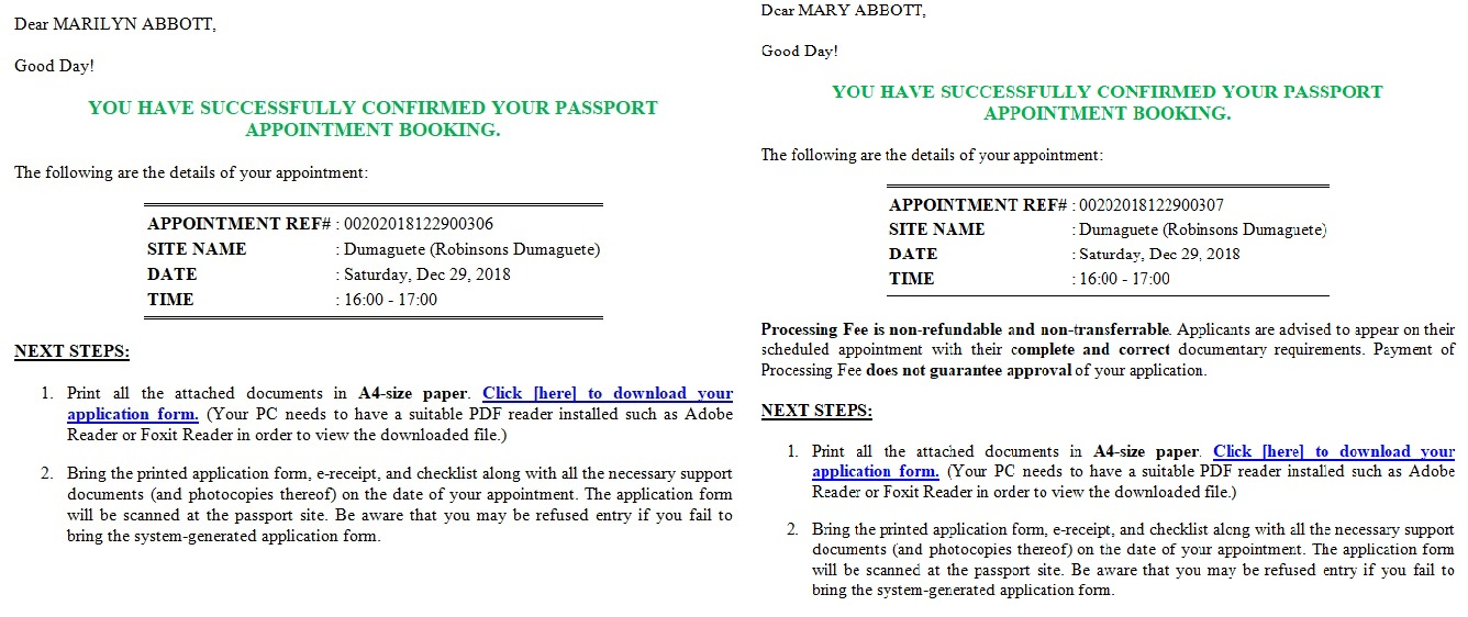 Renewal Of Passport Application Form 2018