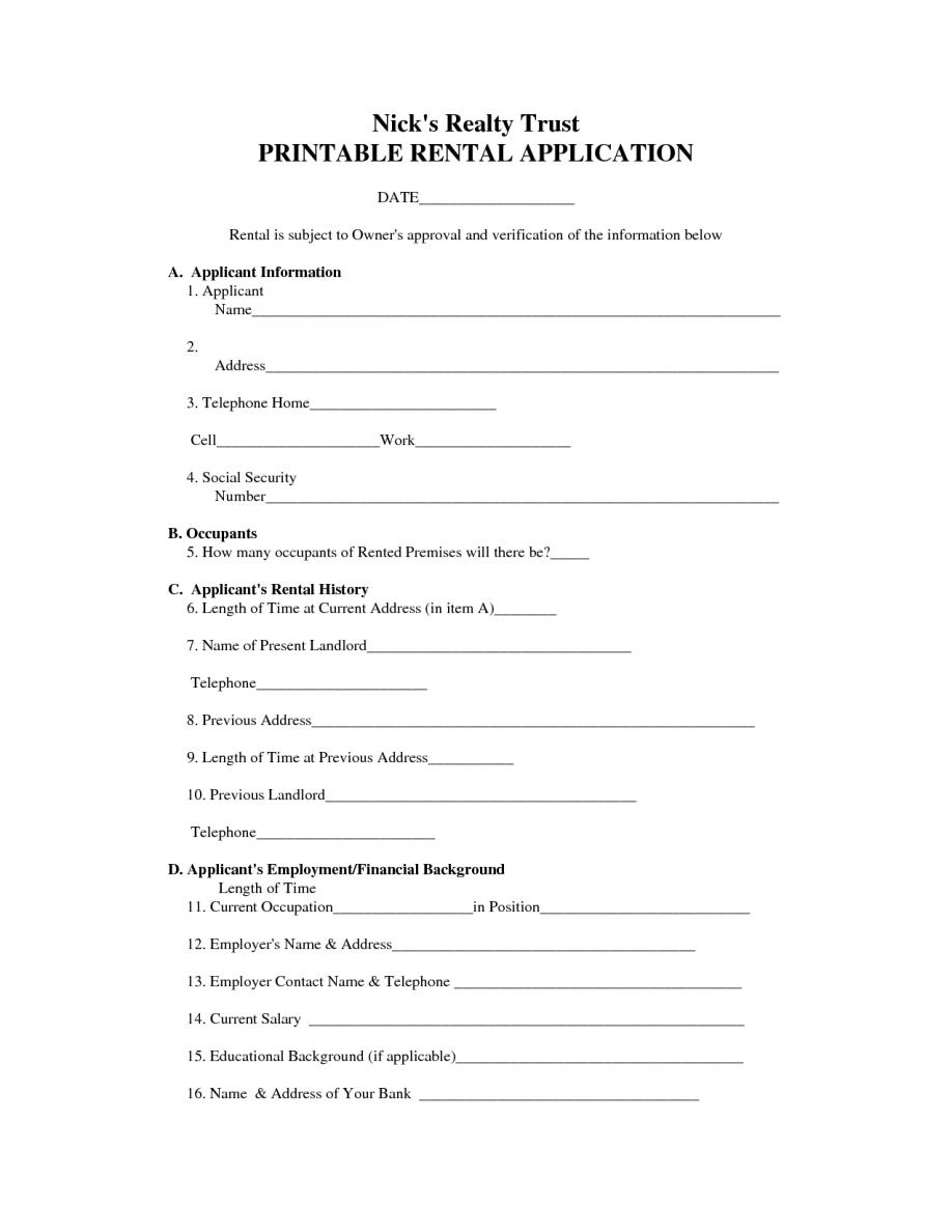 Rental Agreement Format Bangalore