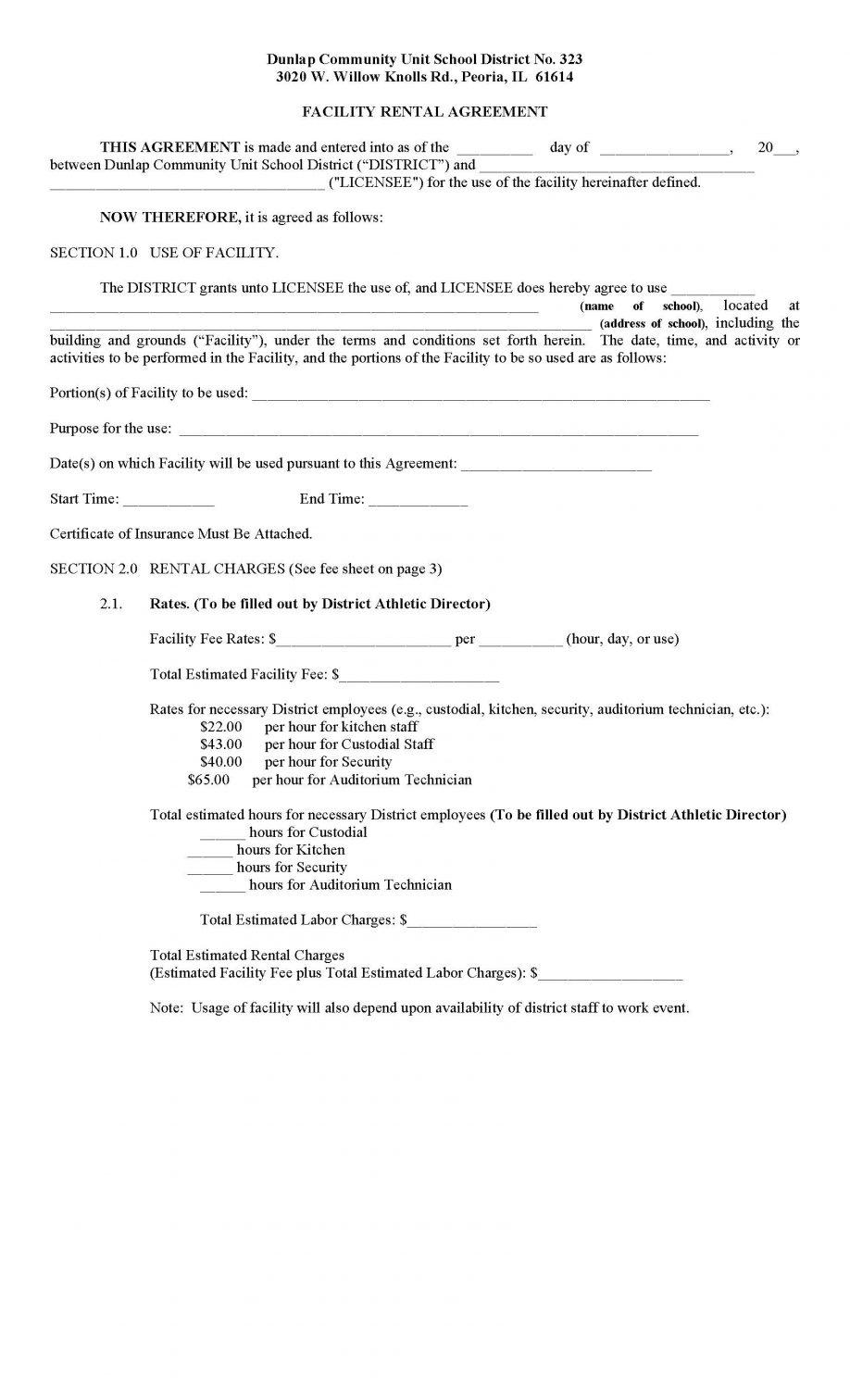 Rental Application Form Ontario Pdf