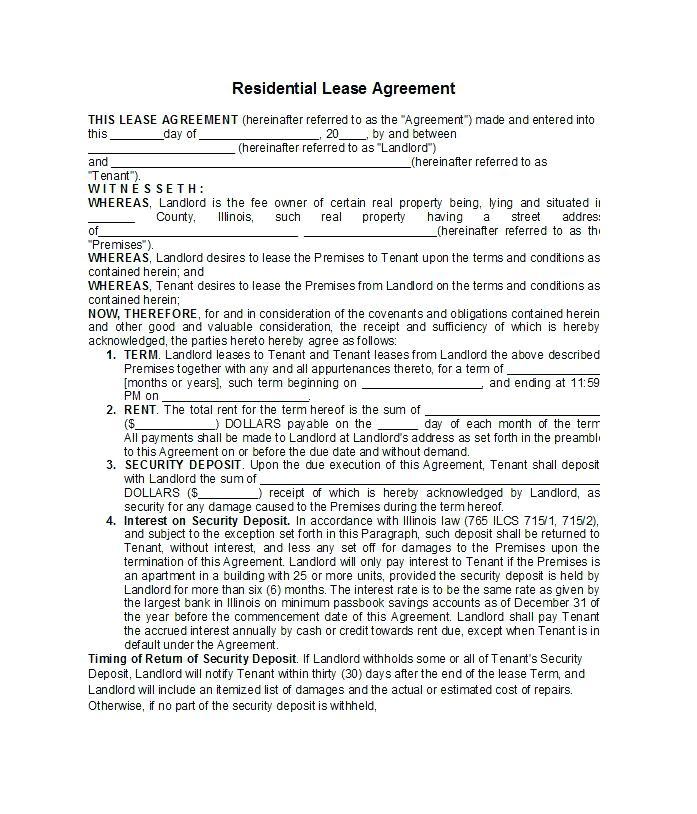 Rental Application Forms Nz