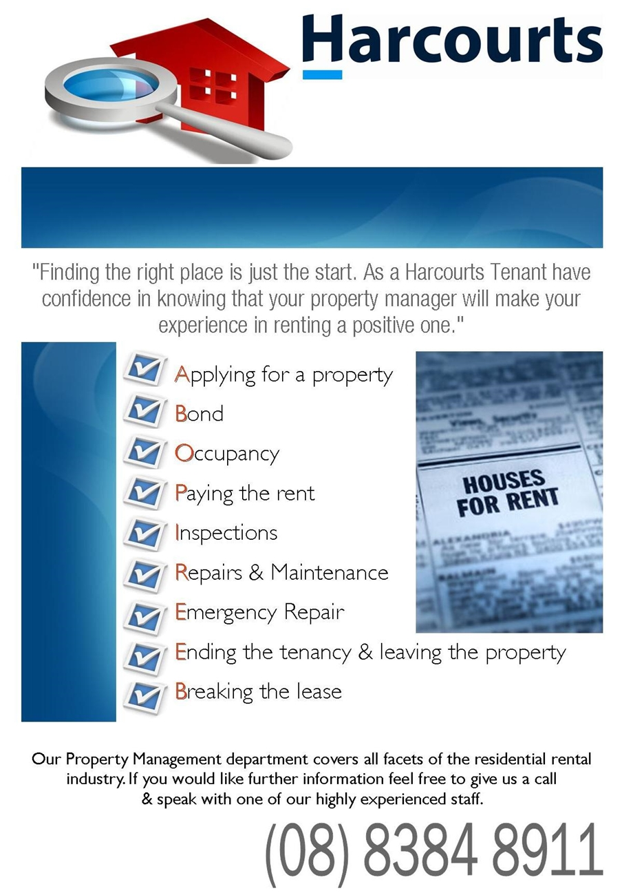 Residential Tenancy Application Form Harcourts