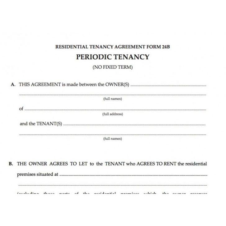 Residential Tenancy Application Form Wa