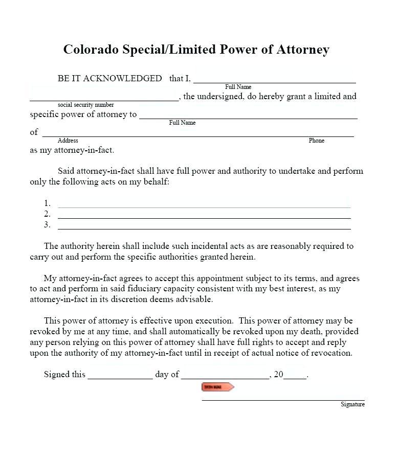 Revoke Power Of Attorney Form Michigan