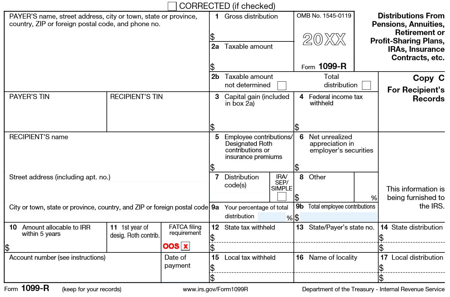 Roth Ira Tax Form 1099