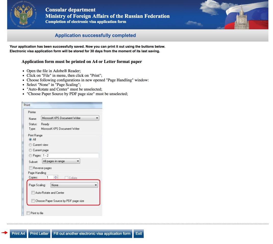 Russian Visa Form Mumbai