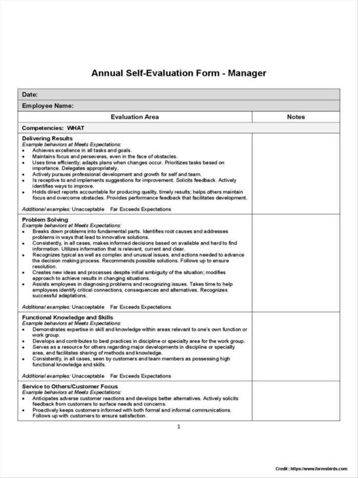 Salesperson Interview Evaluation Form