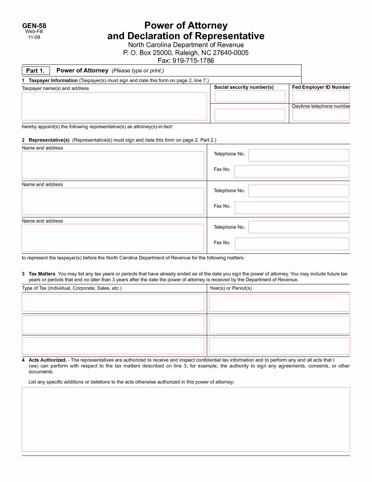 Georgia Health Care Power Of Attorney Form Inspirational Form Durable Power Attorney Georgia Forms General Form Sample