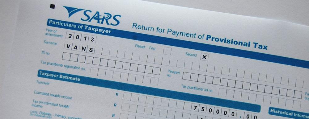 Sars Sole Proprietor Registration Form