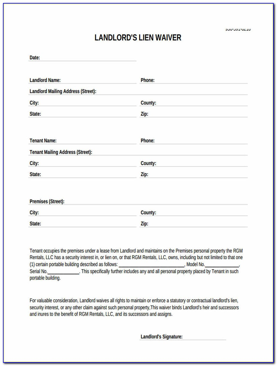 Sba Landlord Consent Form