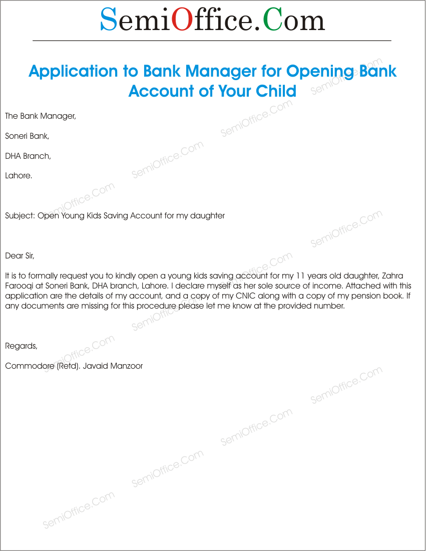 Sbi Bank Account Opening Form For Minor