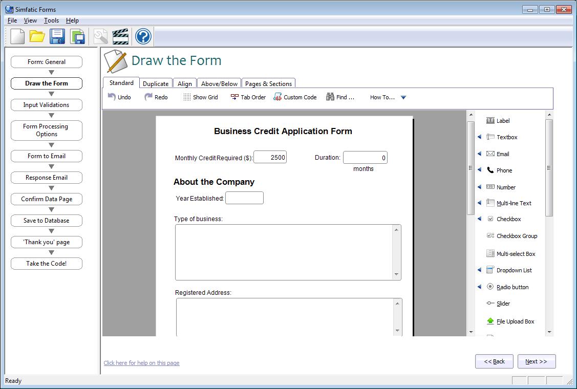 Select Form Css Generator