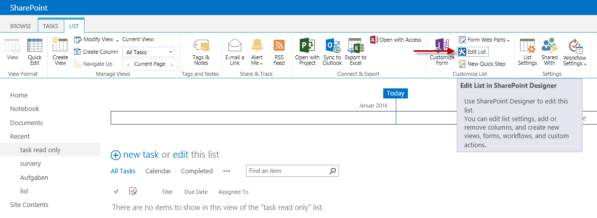 Sharepoint Designer Form Field Read Only