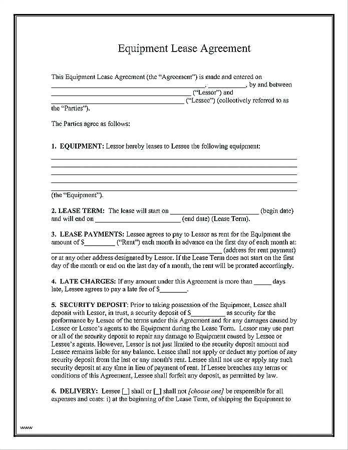 Short Term Rental Agreement Form Free