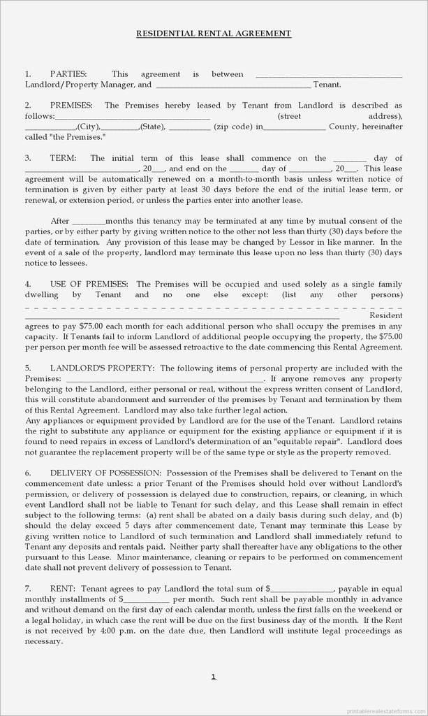 Apt Lease Agreement Lovely Landlord Tenant Agreement Form Elegant Simple Rental Agreement