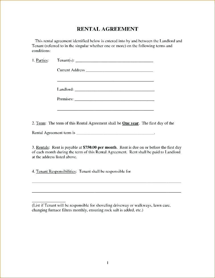 Simple Farmland Rental Agreement Form