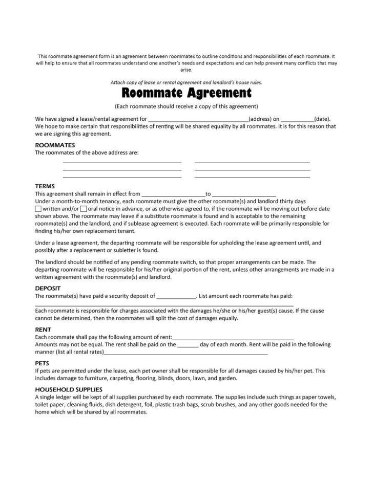 Simple Rent Agreement Format In Marathi