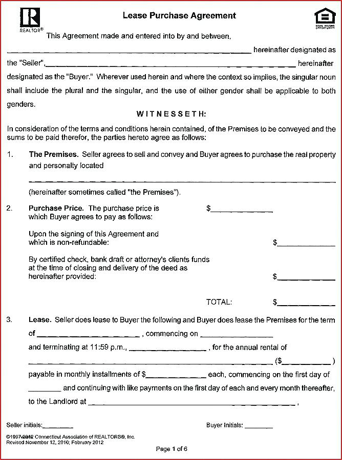 Simple Truck Lease Agreement Form