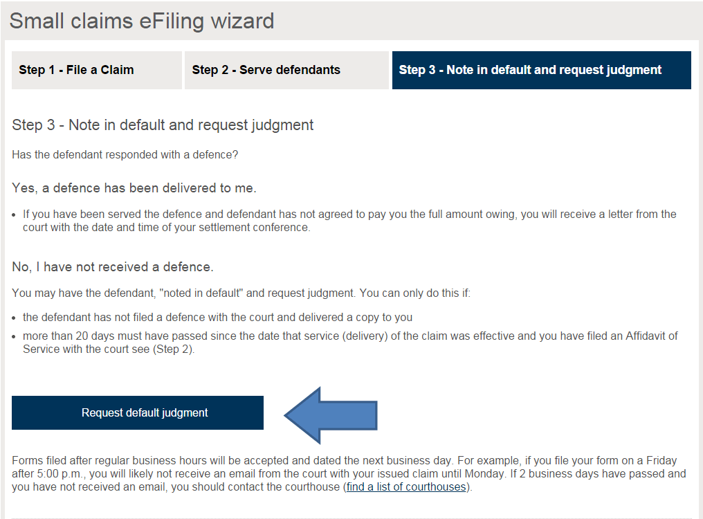 Small Claims Court Forms Download England