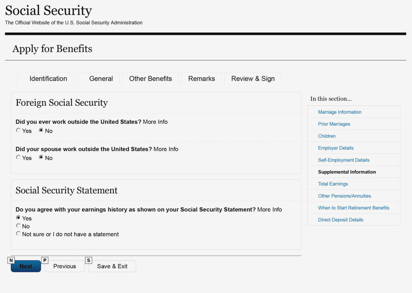 Social Security Disability Forms For Dependents
