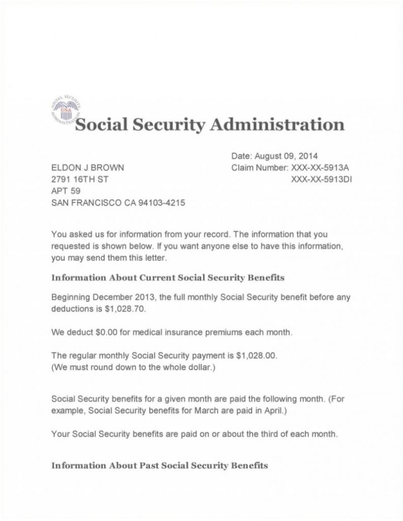 Social Security Award Letter Online Cool Social Security Disability Forms Nj Award Letter Copy Form Staruptv