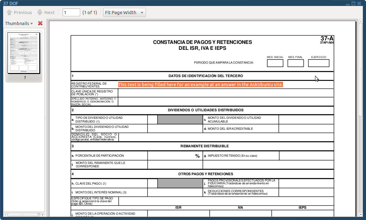 Software For Forms Filling