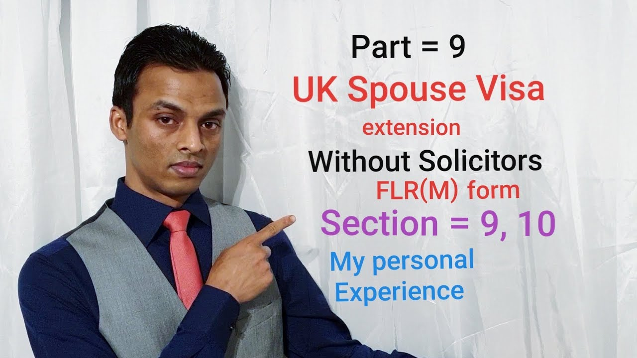 Spouse Visa Application Form Flr M