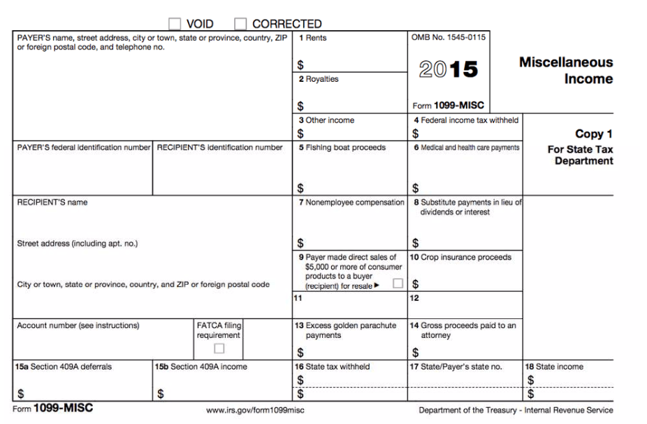 Ssa 1099 Blank Form