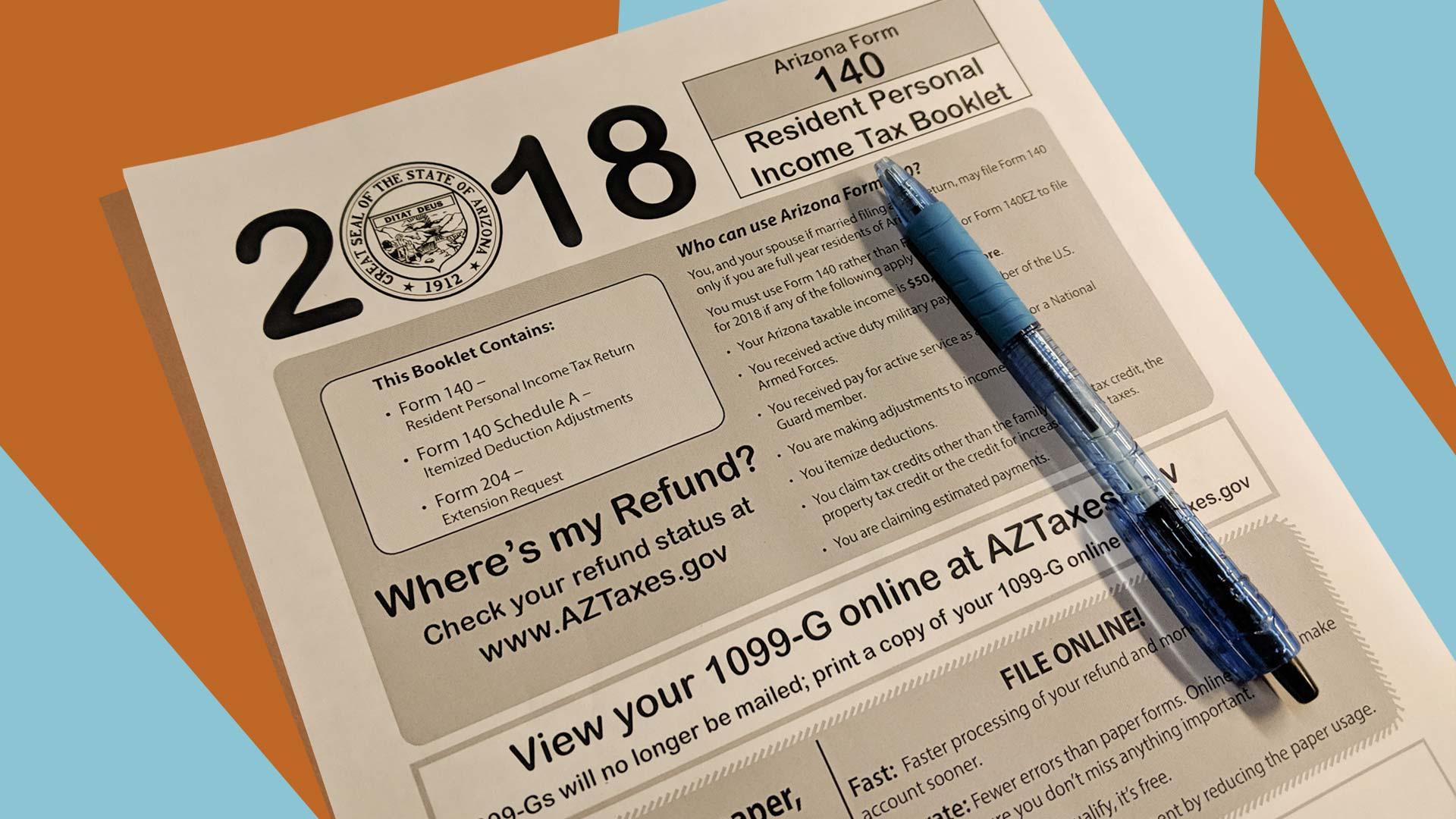 State Of Arizona Form 1099 G