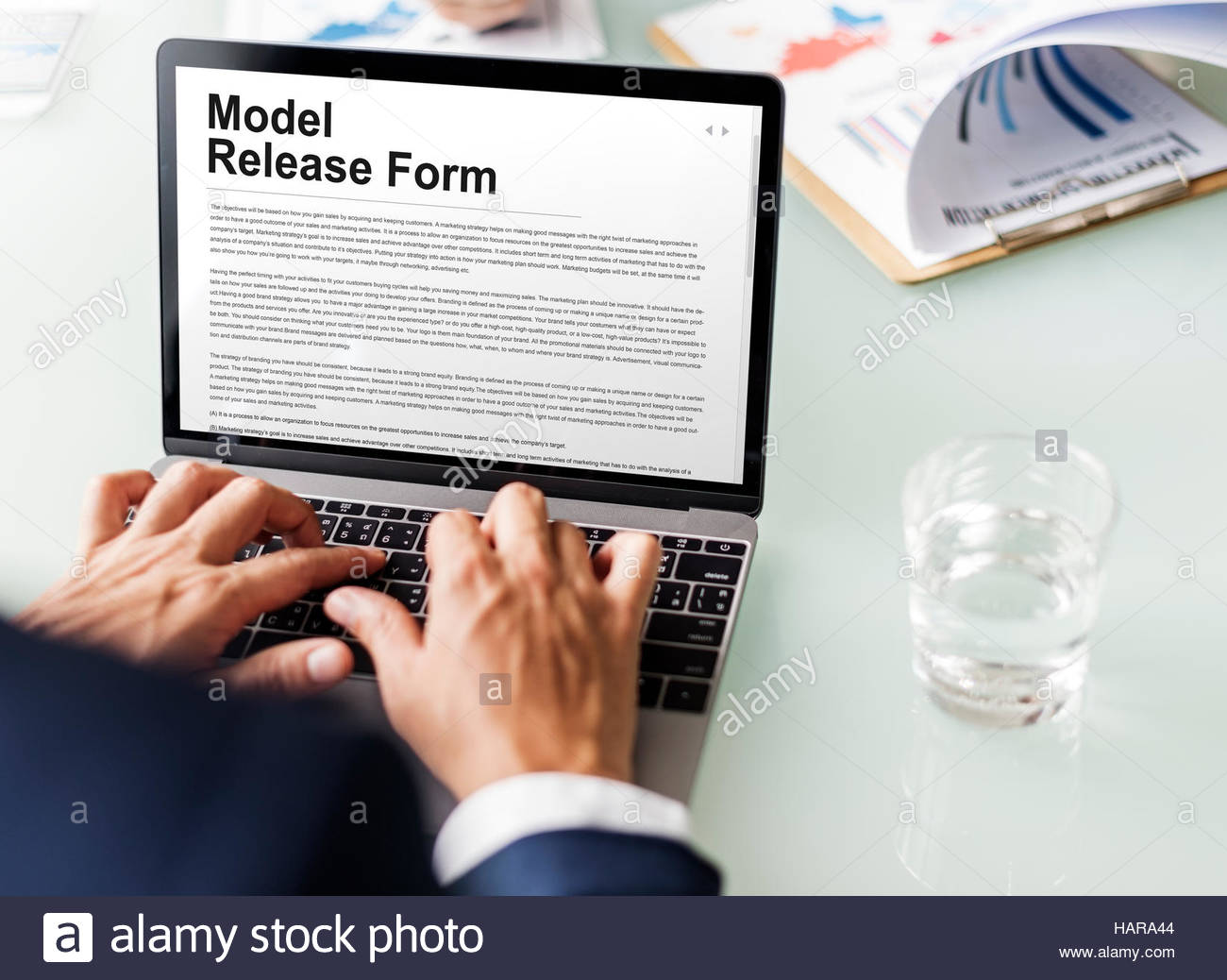 Stock Photo Model Release Form