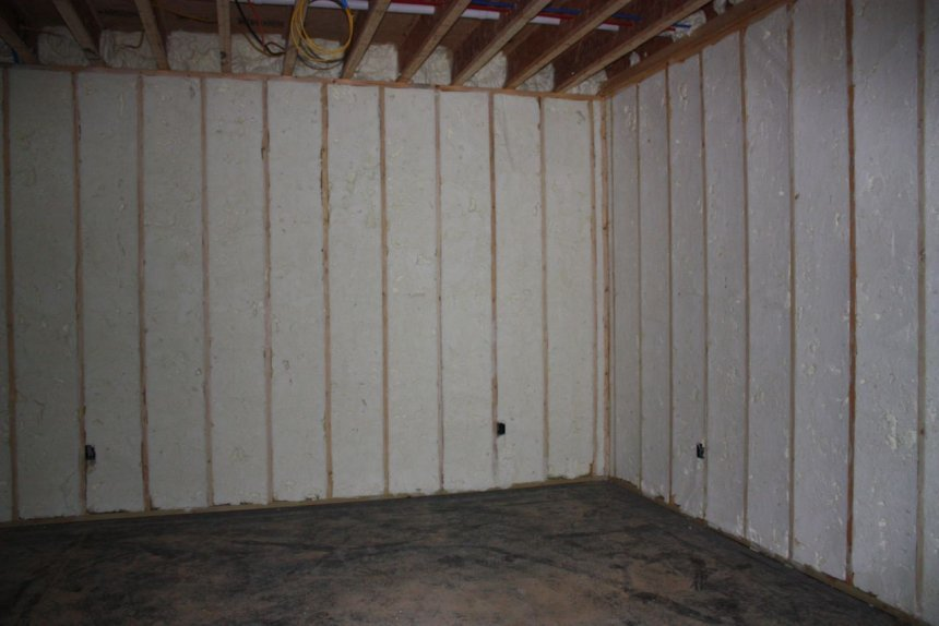 Styrofoam Basement Wall Forms