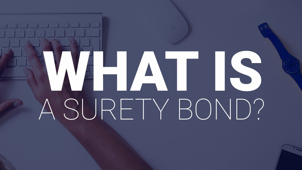 Surety Bond Form Meaning