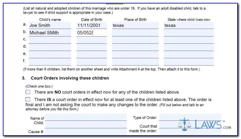 Tarrant County Clerk Divorce Filing