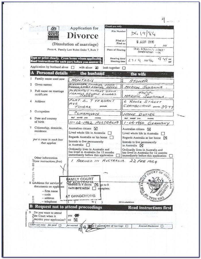 Tarrant County Divorce Filing Fee