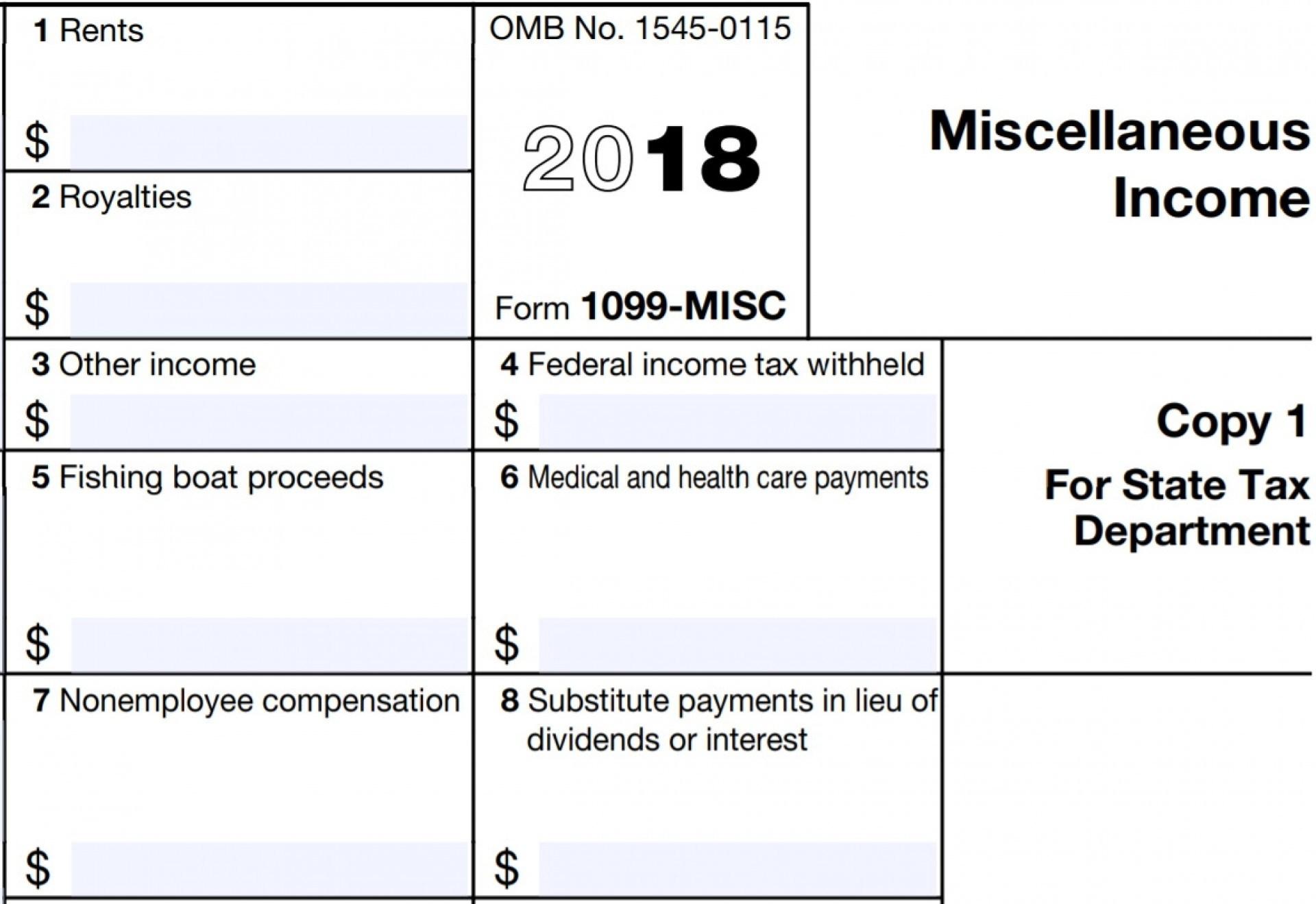 Tax Forms Printable 2018