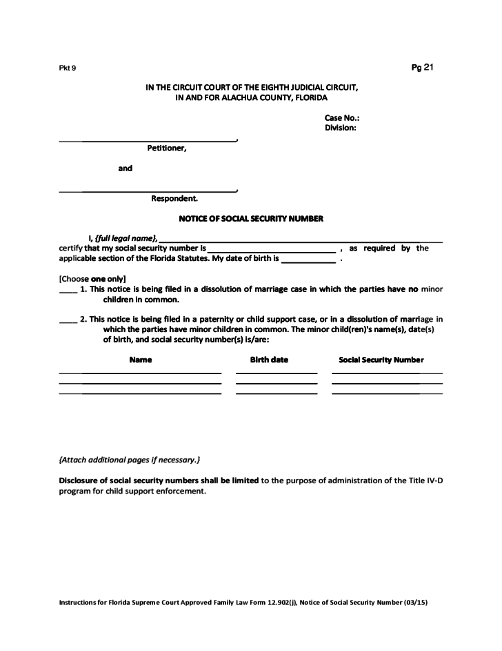 Temporary Custody Forms