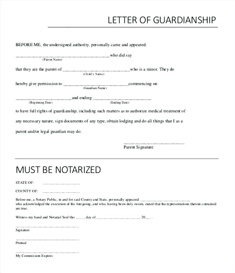 Temporary Minor Guardianship Forms For Free