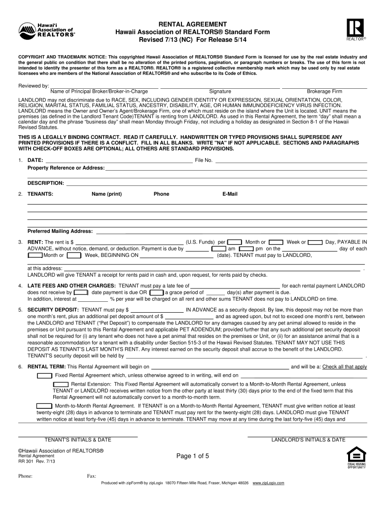 Texas Apartment Association Lease Contract Guaranty Form