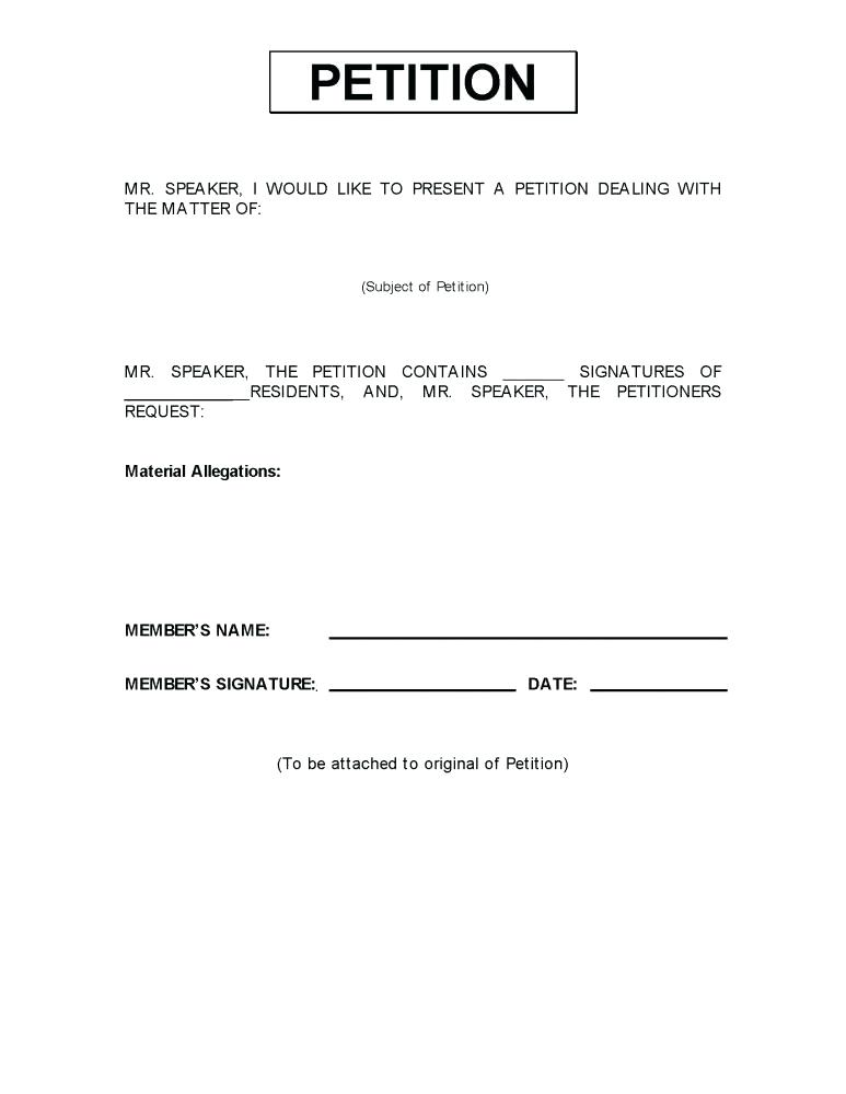 Texas Divorce Counter Petition Form