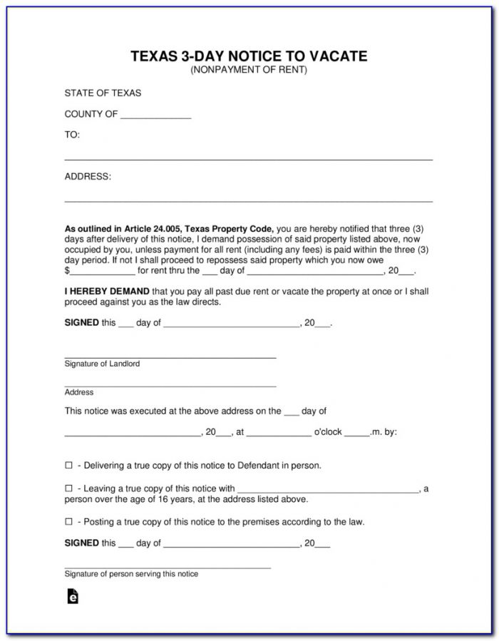 Texas Eviction Judgment Form