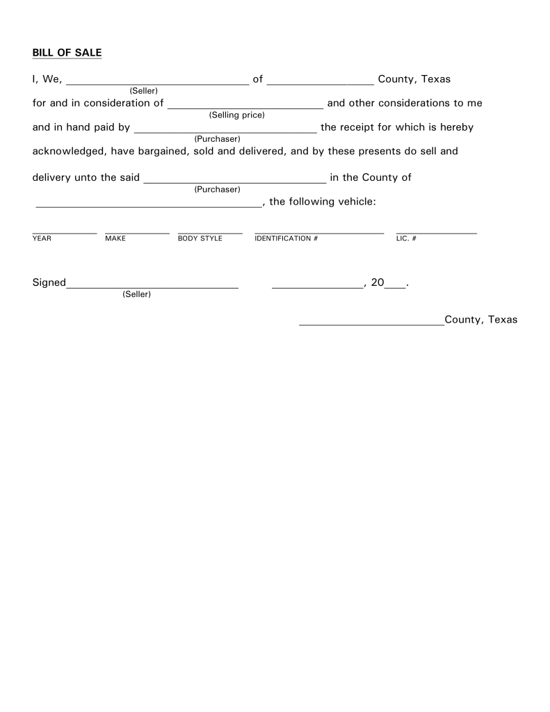 Texas Petition For Guardianship Form
