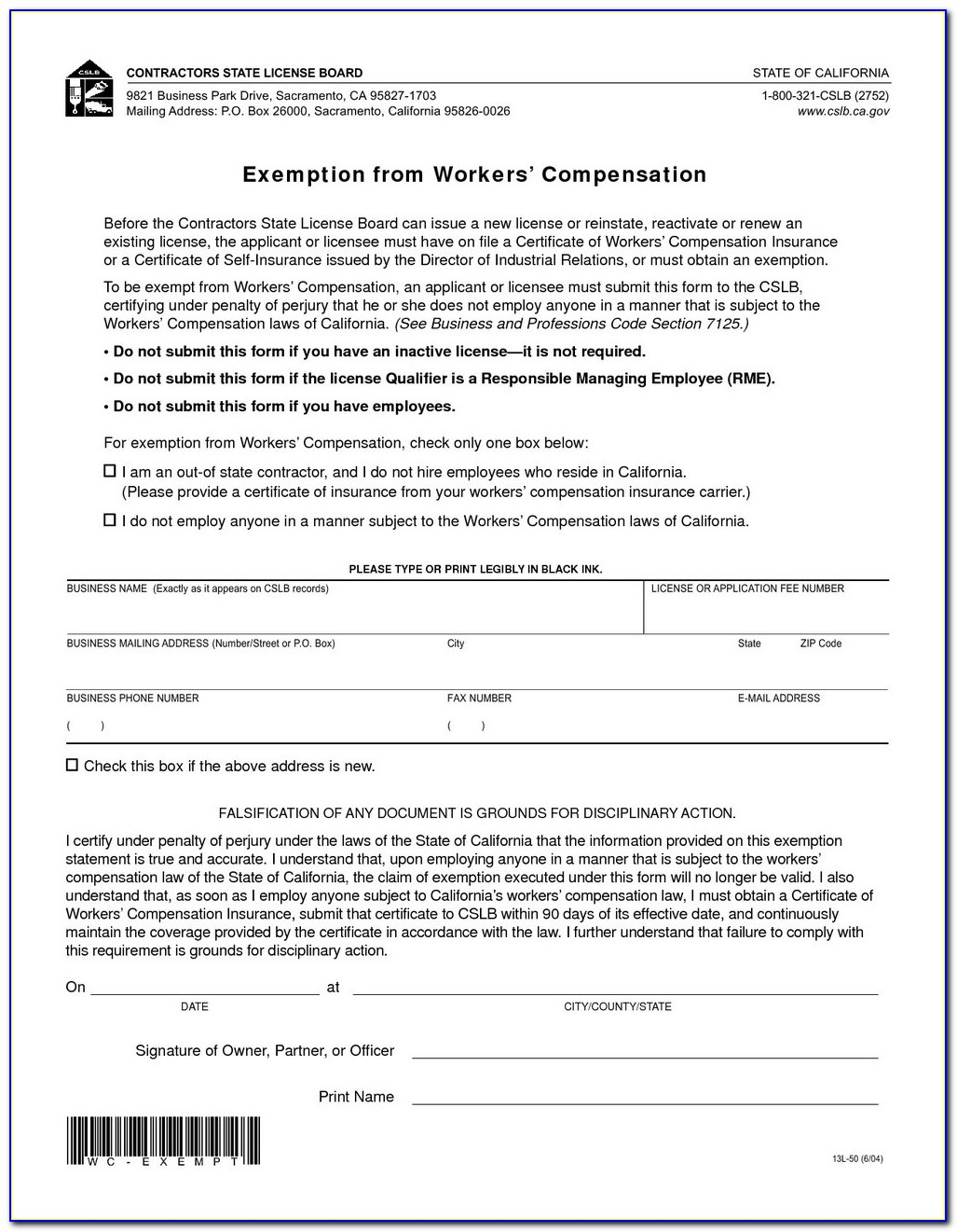 Texas Workers Compensation Form 153