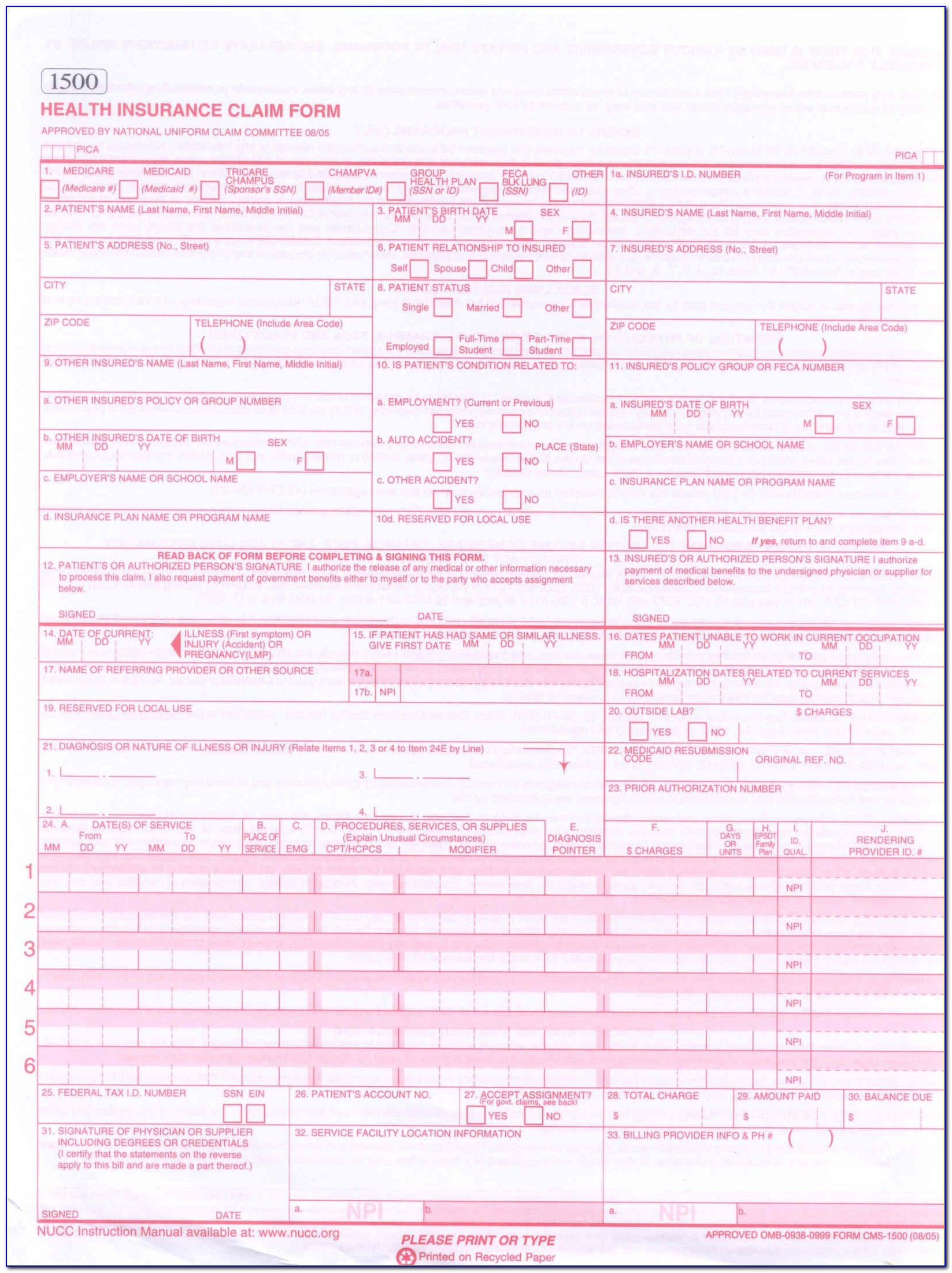 The Ub 04 Billing Form Is Used By