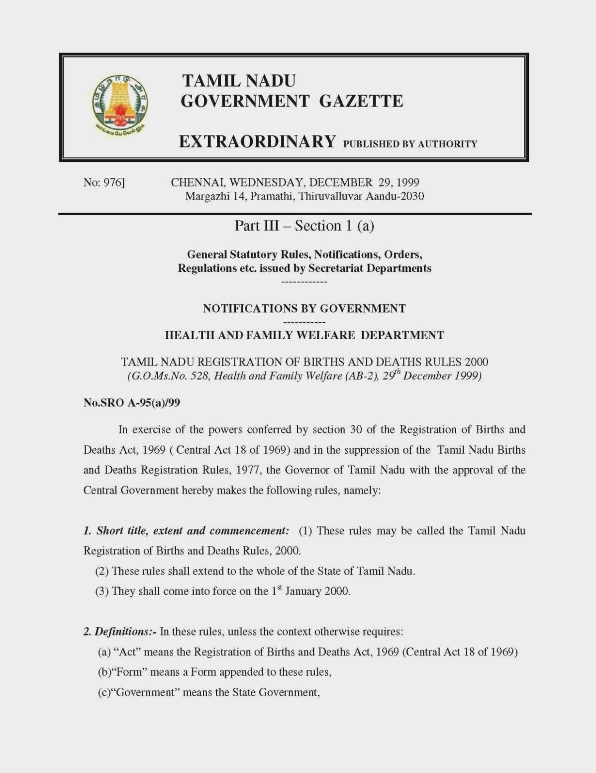 Tn Birth Certificate Form Download