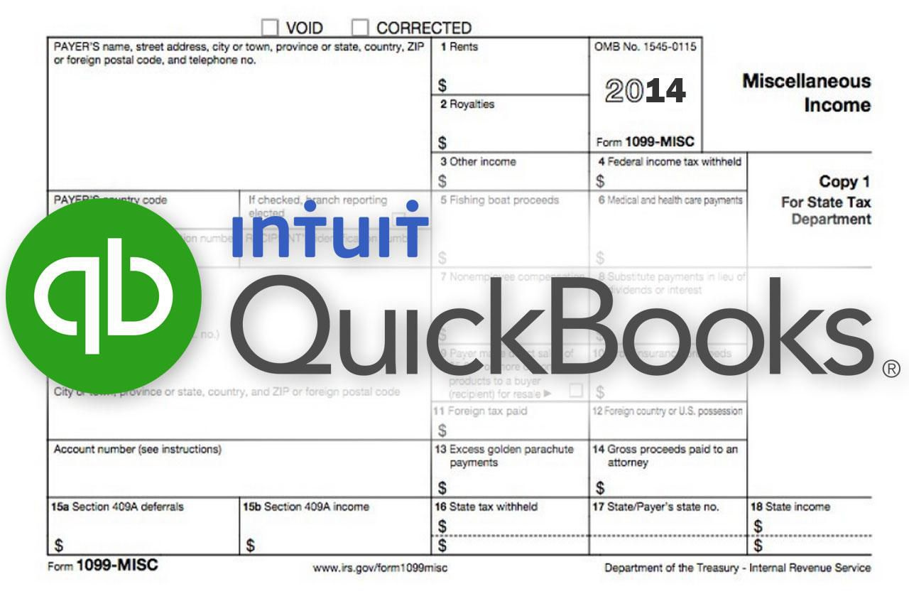 Turbotax 1099 Forms File Irs 1099 Misc Forms Without Eins In Quickbooks
