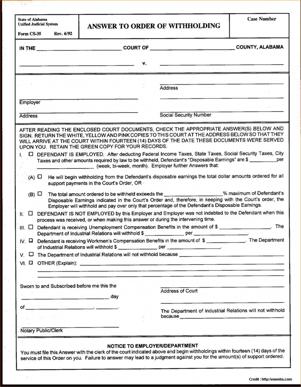 Uncontested Divorce Form Ontario
