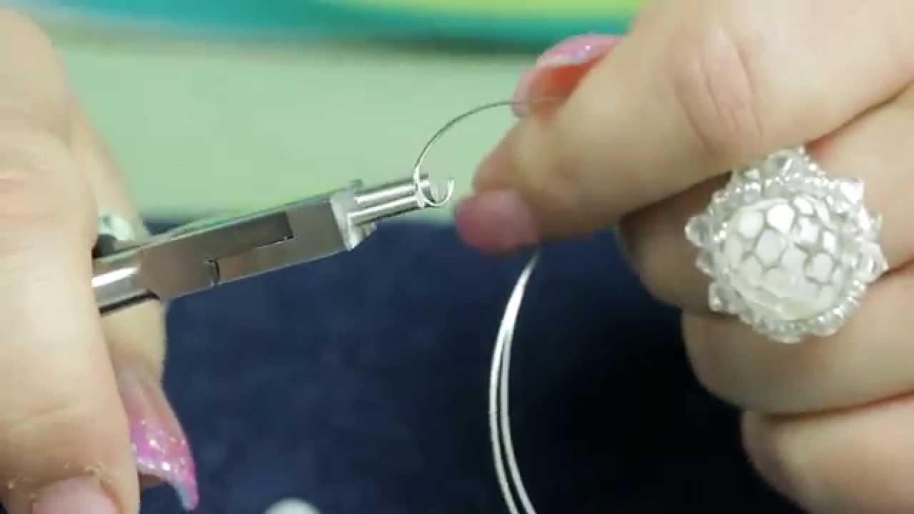 Using Wire Looping Pliers
