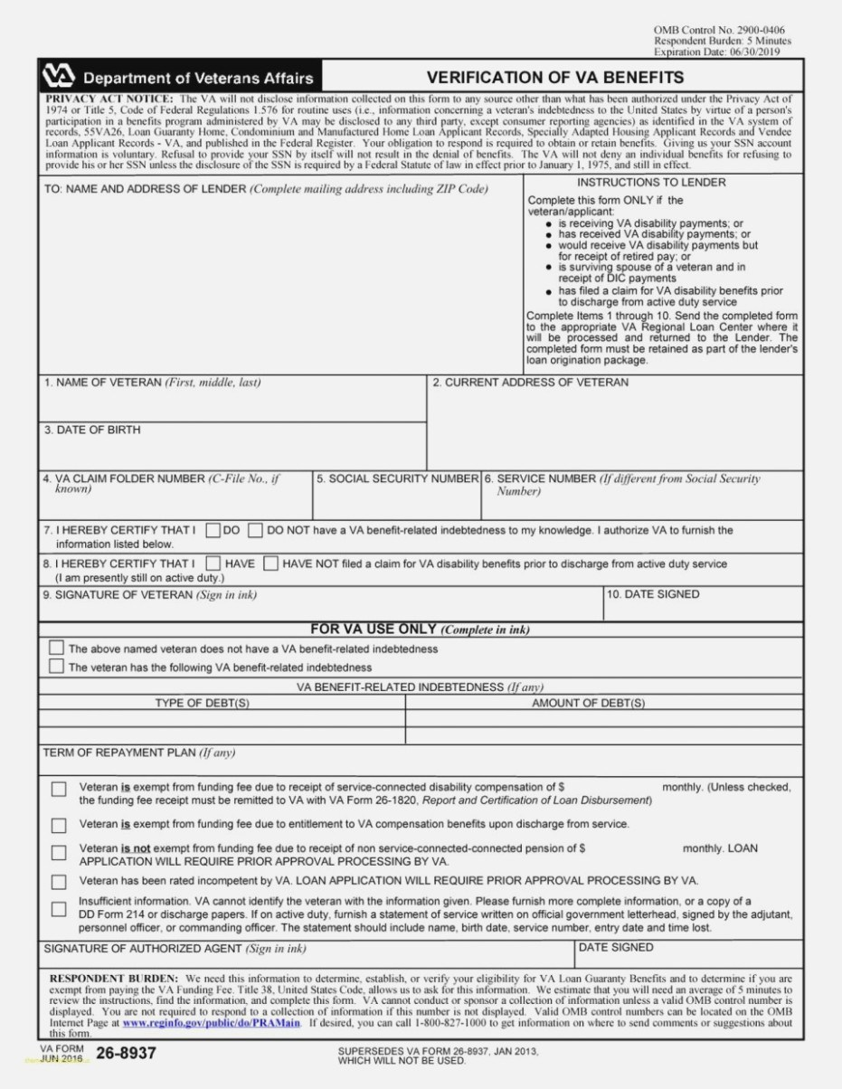Va Disability Supplemental Claim Form