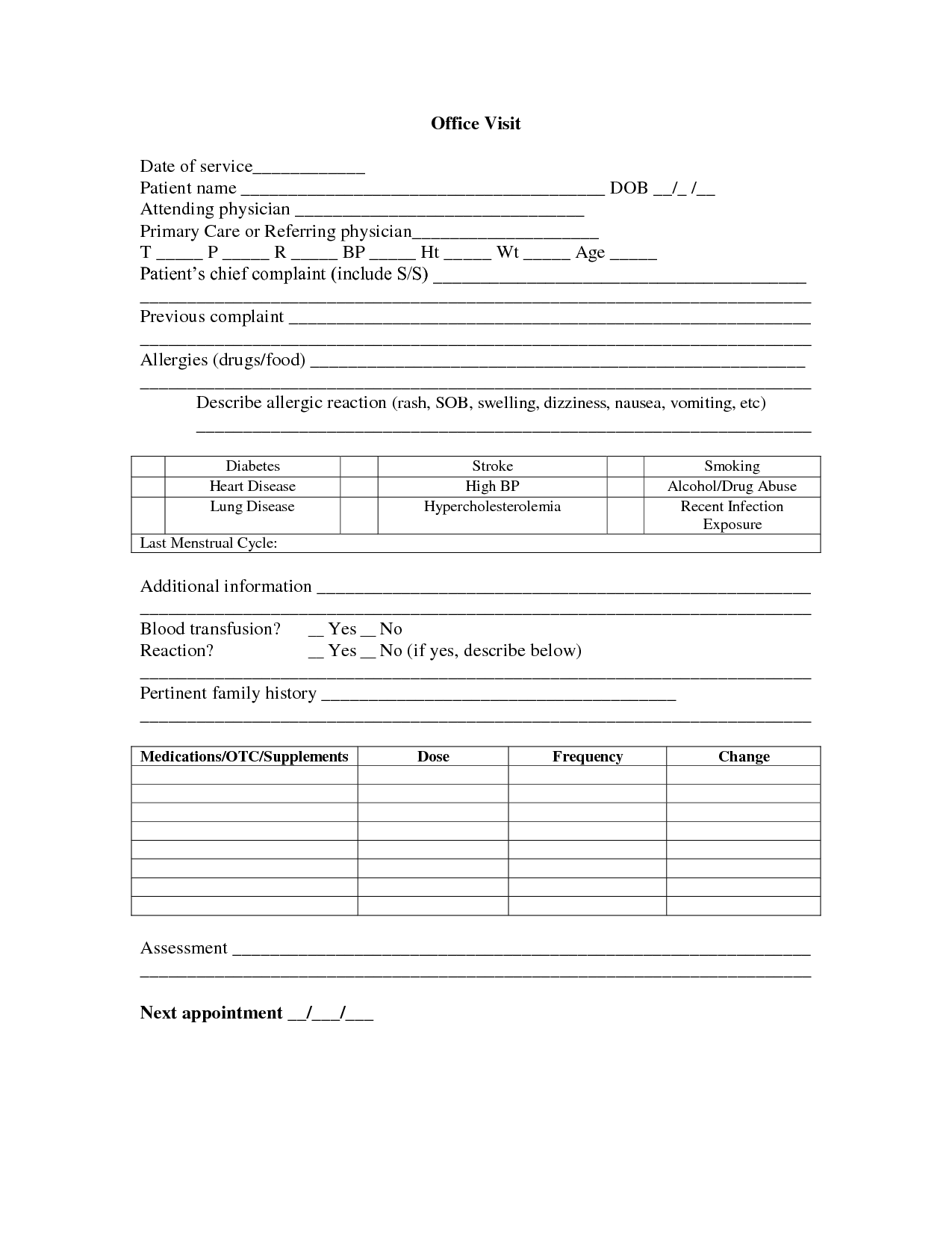 Veterinary Medical Record Release Form